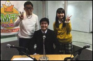 FM千里ラジオ出演